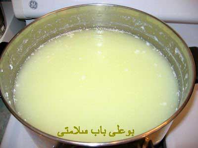 خواص آب پنیر یا ماء الجبن