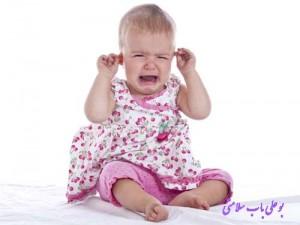 درمان گوش درد نوزاد با روغن کرچک