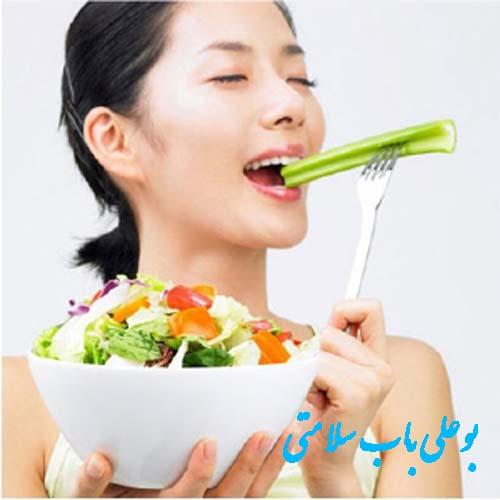 بهترین تغذیه جهت درمان جوش صورت