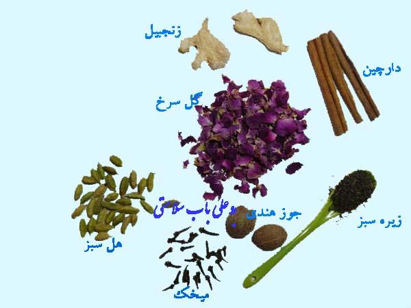 مواد لازم جهت تهیه ادویه پلویی