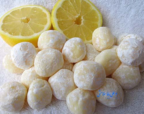شکلات سنتی لیمو ترش