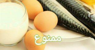 تخم مرغ و ماهی